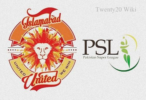 Islamabad United Team Squad for PSL 2016 - T20 Wiki