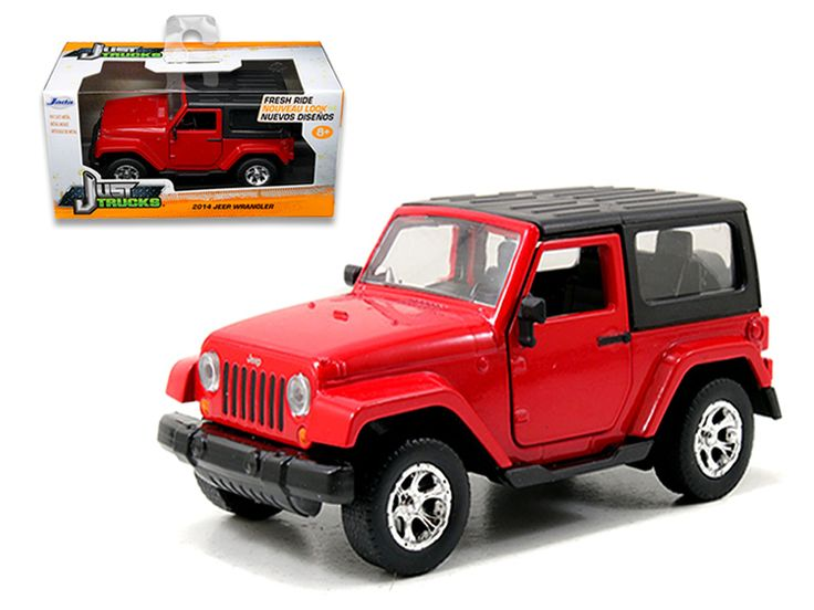 2014 Jeep Wrangler Red 1/32 Diecast Model Car by Jada
