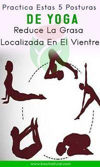 Practica estas 5 posturas de yoga y reduce la grasa abdominal en 7 días   – stretching