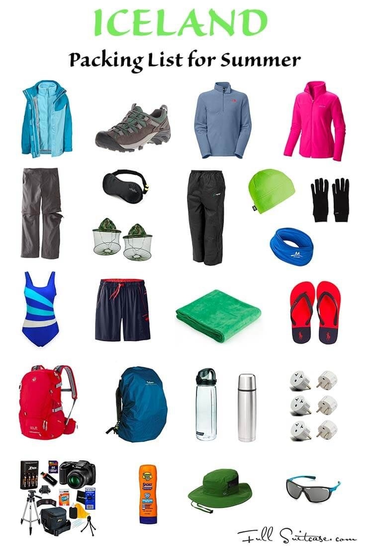 With average July temperatures of 10°C (50°F), summer is a relative term in Iceland. Find out what to wear and what to pack for Iceland in summer and travel well prepared. Pin it now, read before you travel!