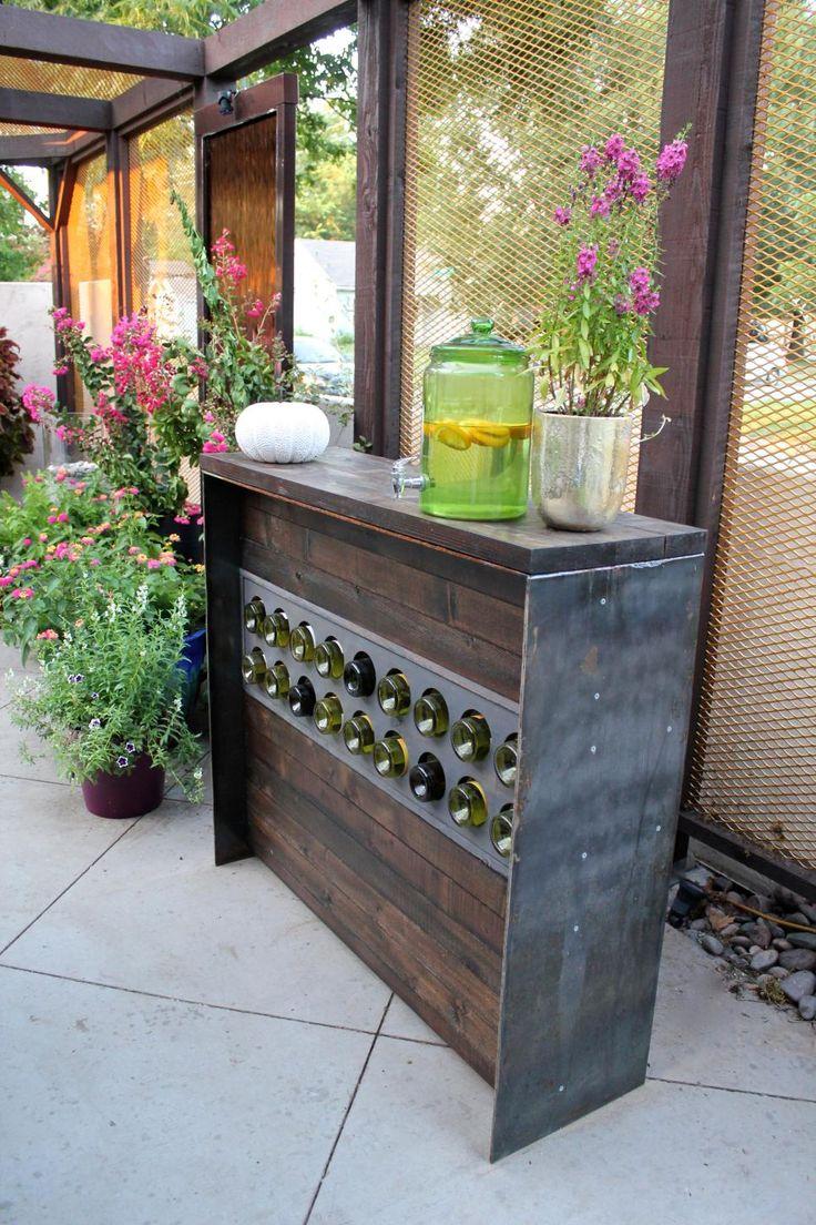 best 25+ rustic outdoor bar ideas on pinterest   rustic outdoor