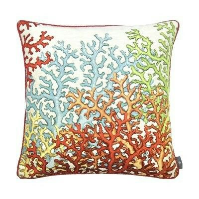 Art-de-lys koraal 6 sierkussens