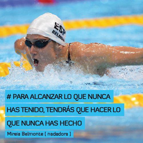 Para alcanzar lo que nunca has tenido, tendrás que hacer lo que nunca has hecho http://www.altorendimiento.com/cursos/curso-natacion