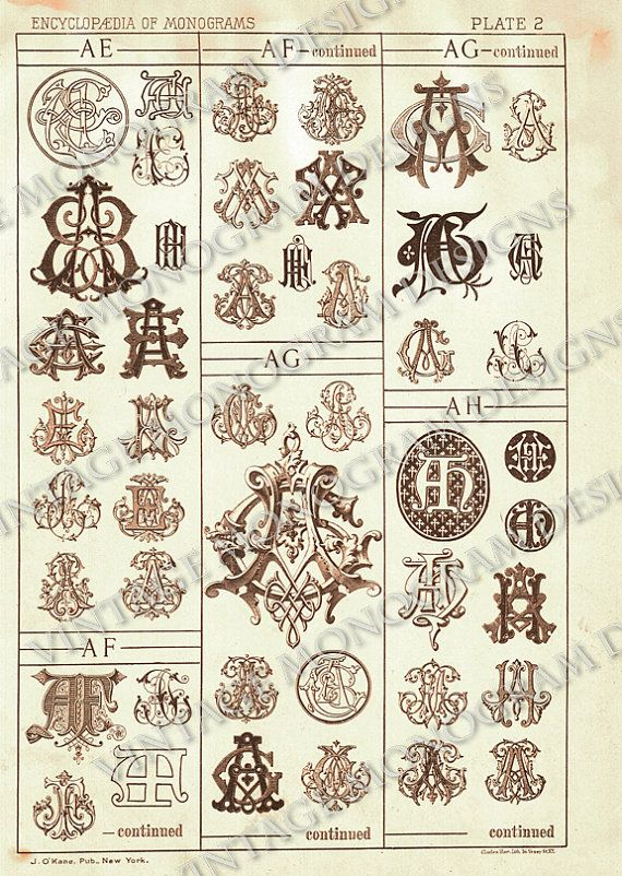 A F A S I A: Page Scan From Vintage Monogram