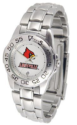 Louisville Cardinals- University Of Sport Steel Band - Ladies - Women's College Watches by Sports Memorabilia. $50.76. Makes a Great Gift!. Louisville Cardinals- University Of Sport Steel Band - Ladies