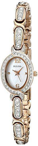 Bulova Women's 98L200 Stainless Steel Swarovski Crystal-Accented Watch https://www.carrywatches.com/product/bulova-womens-98l200-stainless-steel-swarovski-crystal-accented-watch/ Bulova Women's 98L200 Stainless Steel Swarovski Crystal-Accented Watch  #bulovaladieswatches #bulovaladieswatches-women'sbulovawatches-bulovawatcheswomen #bulovaquartz #bulovawatchprices #oldbulovawatches-antiquebulovawatches-vintagebulovawatches #rosegoldwatchcheap