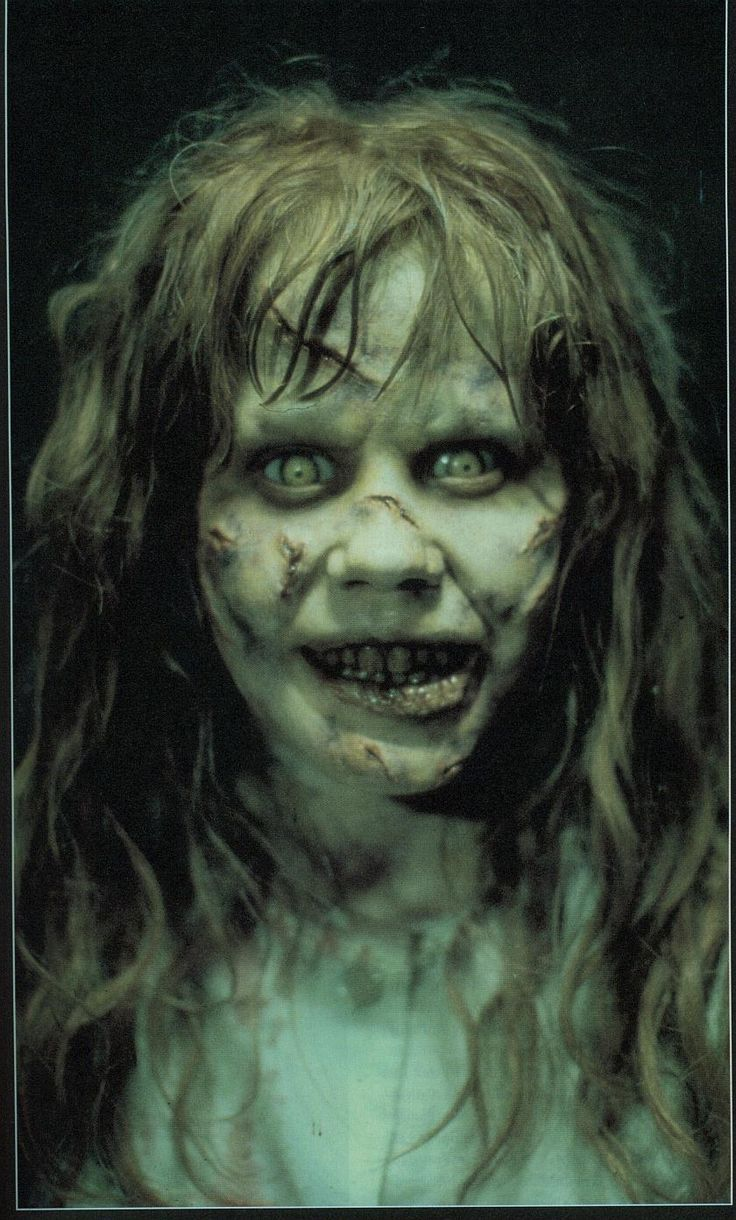 Exorcist - I loved this movie and the book. possibly sculpt a doll like this??