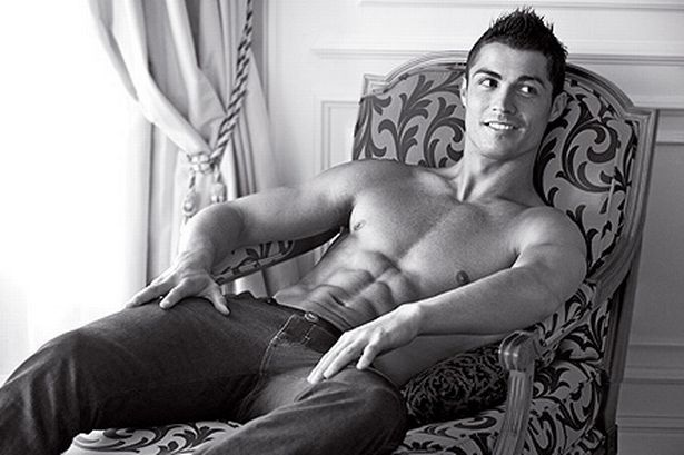 Christiano Renaldo...can't figure if i should pin in my celebrity or my delish lol