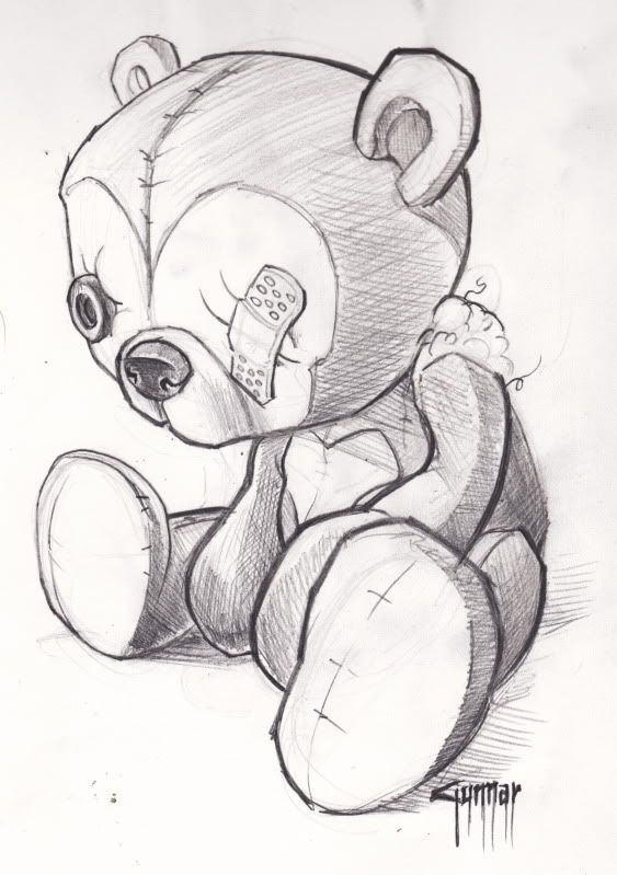 teddy bear tattoos images lSmrvlyi