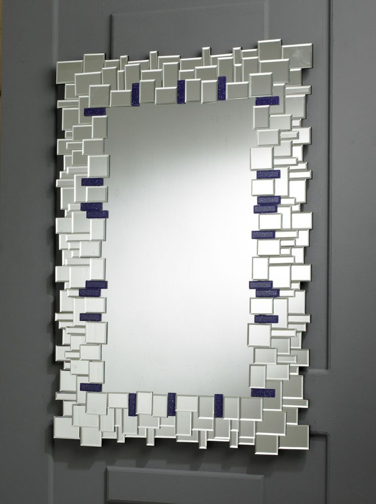 1000 images about rectangle and square mirrors on for Modern wall mirror