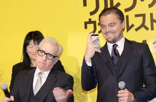 レオ様、スコセッシ監督からダメ出し?オスカー候補作が日本上陸 http://eiga.com/news/20140128/16/