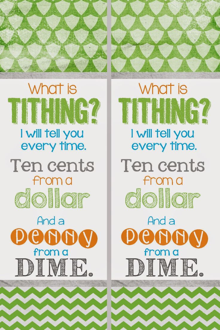 A Pocket Full Of Lds Prints Free Tithing Bookmark