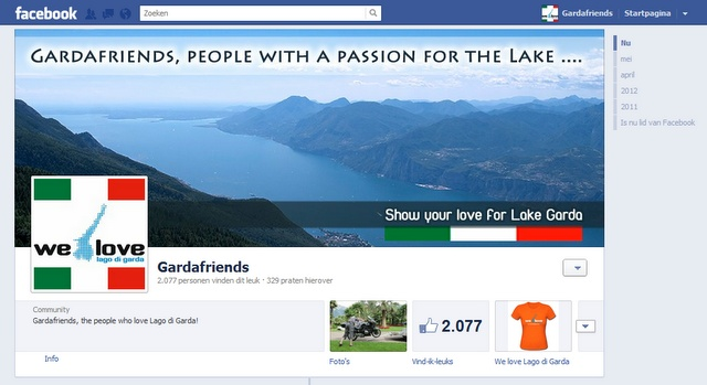 Lago di Garda on Facebook! There are hundreds, even thousands of informative websites about Lake Garda. There also appear more and more Facebook pages about the most beautiful lake in italy. On this page we try to collect them all.  Do you know a nice page that is not in our list? Let us know at the Gardafriends Facebook page!