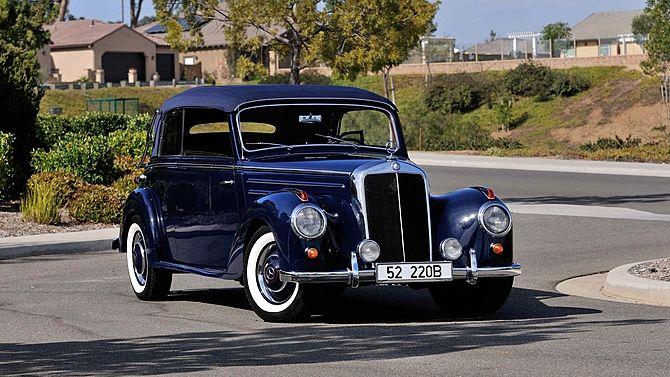 1952 Mercedes-Benz 220B   Mecum Auctions