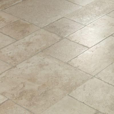 Innovations Cottage Stone Pearl 8 mm Thick x 15-1/2 in. Wide x 46-2/5 in. Length Click Lock Laminate Flooring (20.02 sq. ft. / case)-706277 ...