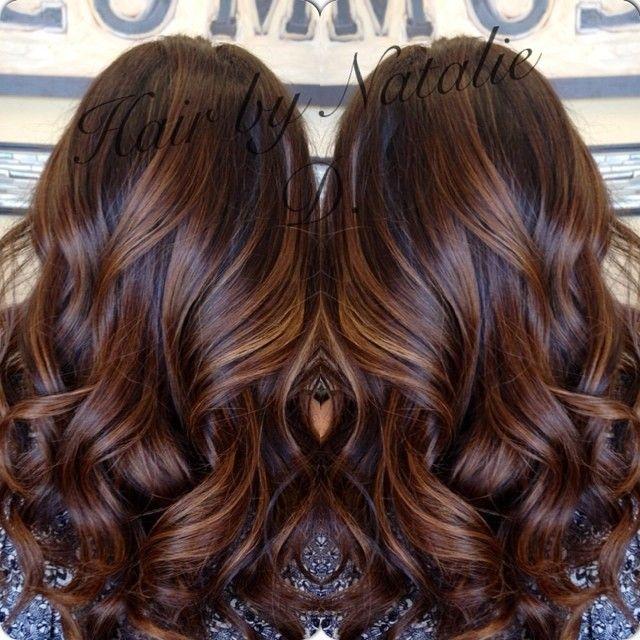 Subtle #balayagehighlights for the lovely @neni1269  #balayagehaircolor #balayage #hairpainting #hairbynatalied #hairstylistsinglendora #naturalombres