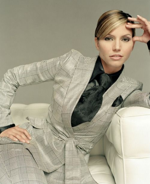 Charisma Carpenter, pocket square, handkerchief