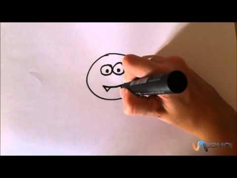 ▶ Dibujar una araña animada - Draw a spider animated - YouTube