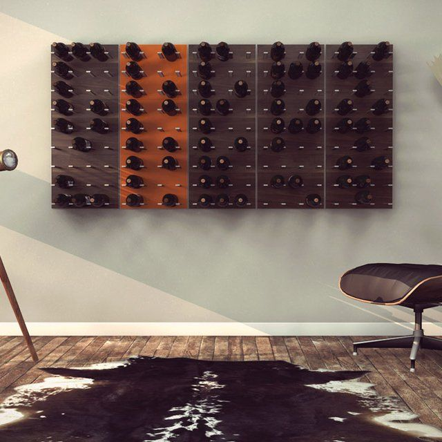 Stact Modular Wine Wall by STACT LLC