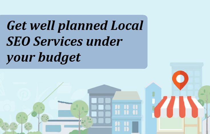 Get well planned Local SEO Services under your budget.