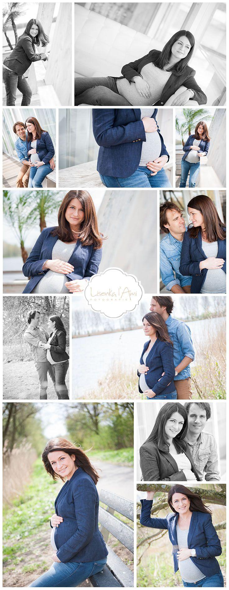 maternity shoot - pregnancy - outdoors - natural