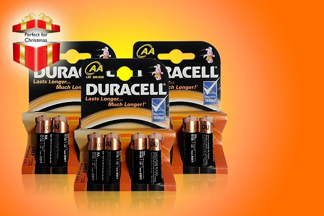 12 or 24 Duracell Batteries