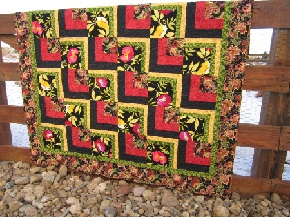 Bold and Beautiful Handmade Quilt