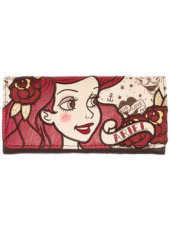 Little Mermaid Ariel Tattoo Wallet at PLASTICLAND