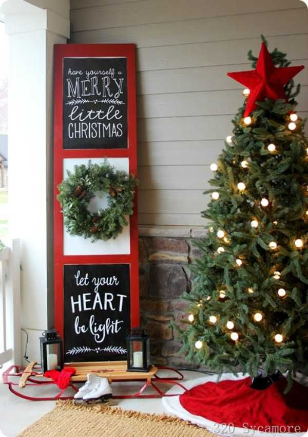 25 best christmas front porches ideas for the holidays christmas pinterest christmas christmas porch and christmas decorations