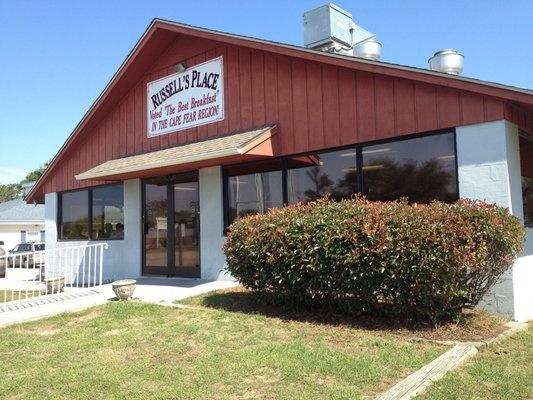 Russell's Place Restaurant, Oak Island, NC