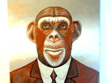 Peter Maring, MONKY BUSINESS on ArtStack #peter-maring #art