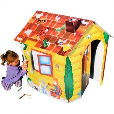 Diverse Kleur je eigen Speelhuis speeltenten buitenspeelgoed speelgoed - Vivolanda