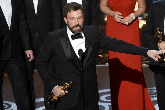 Ben Affleck Oscar Acceptance Speech For Argo