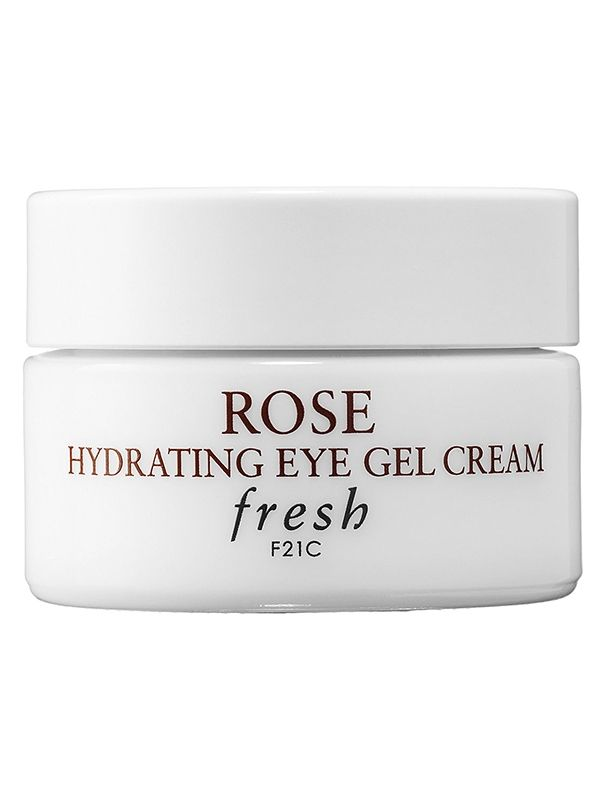 Fresh Rose Hydrating Eye Gel Cream $41: A dose of cool eye cream provides instant relief while it de-puffs and hydrates.