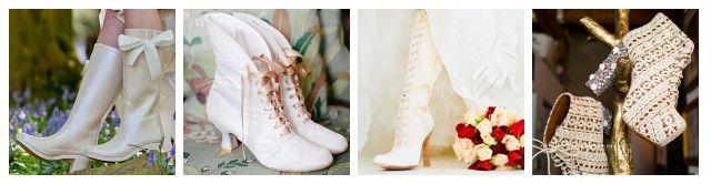 stivali sposa inverno - bridal boots