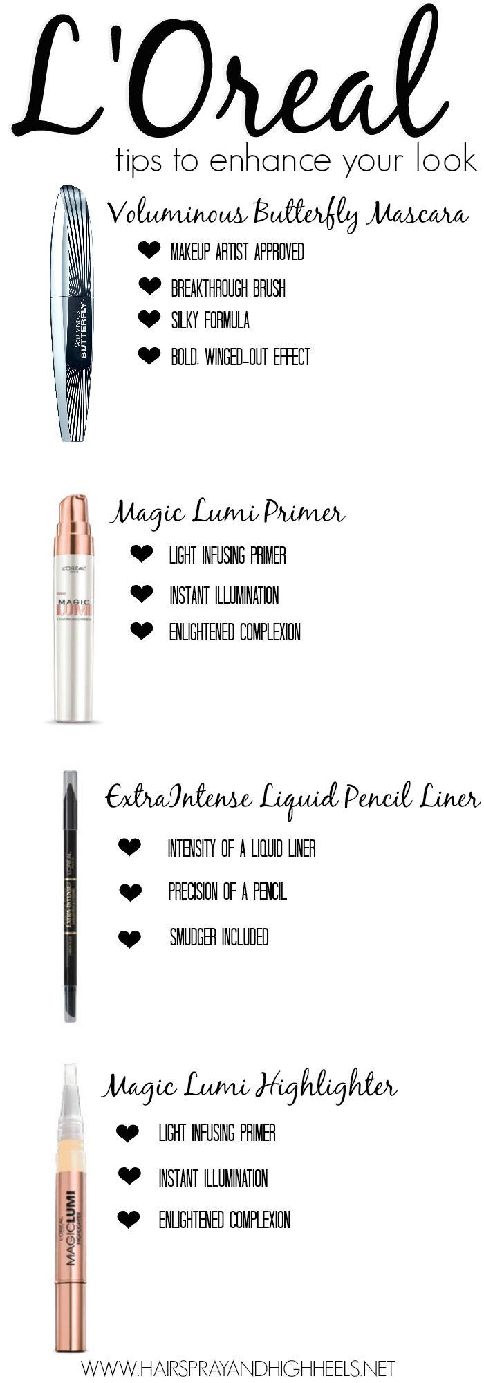 Makeup Tips To Enhance Your Look  via www.hairsprayandhighheels.com #WalgreensBeauty #cbias #shop