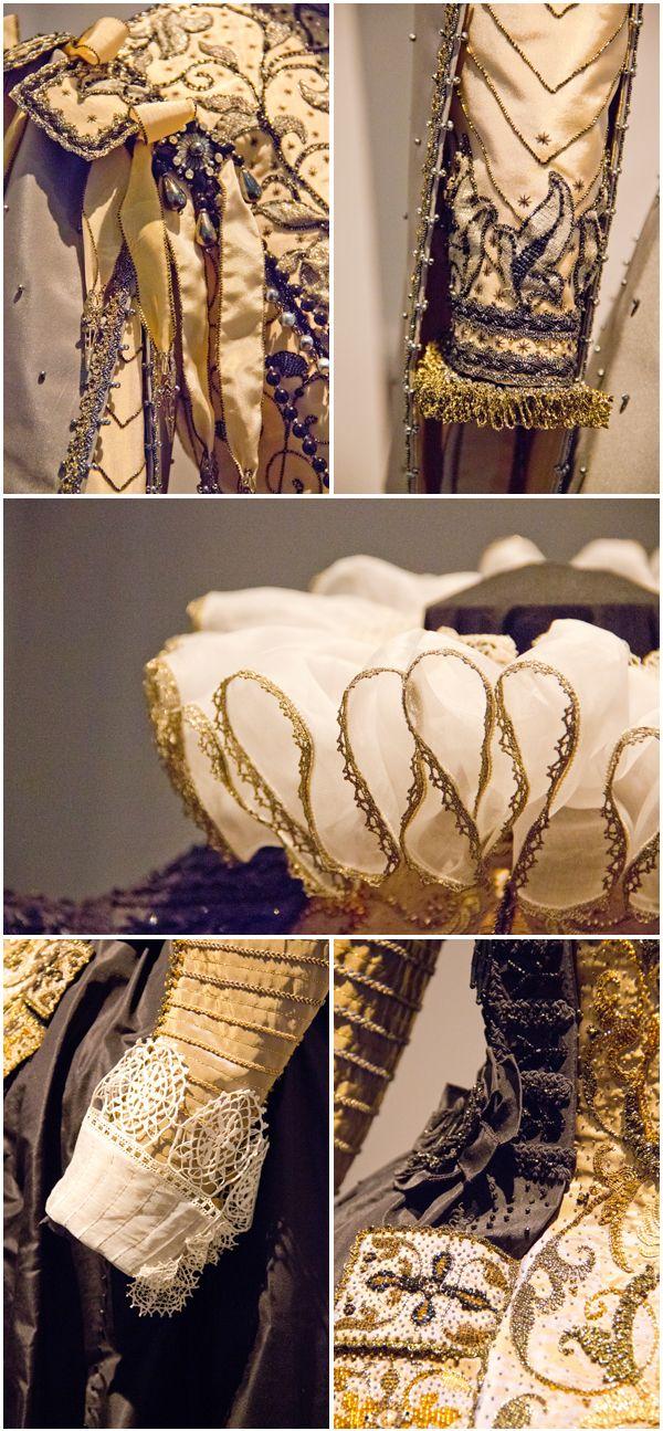 Details of Olliver Henry inspired 16th & 17th dresses © Fabienne Slater