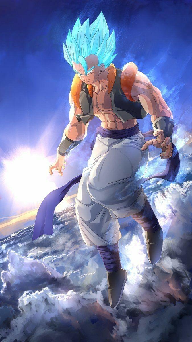 Gogeta Blue Anime Dragon Ball Super Heroi