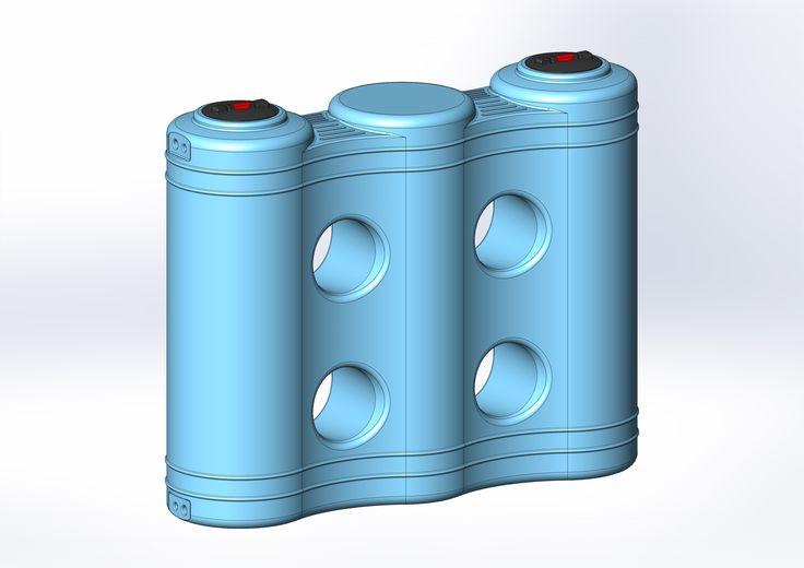 Dep sito tipo maleta l dep sitos para agua pinterest for Piscina 6 x 3
