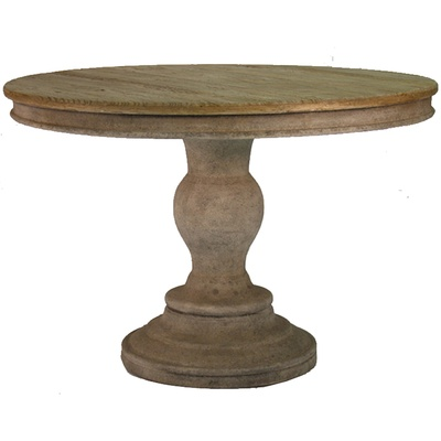 Distressed Round Dining Room Tables