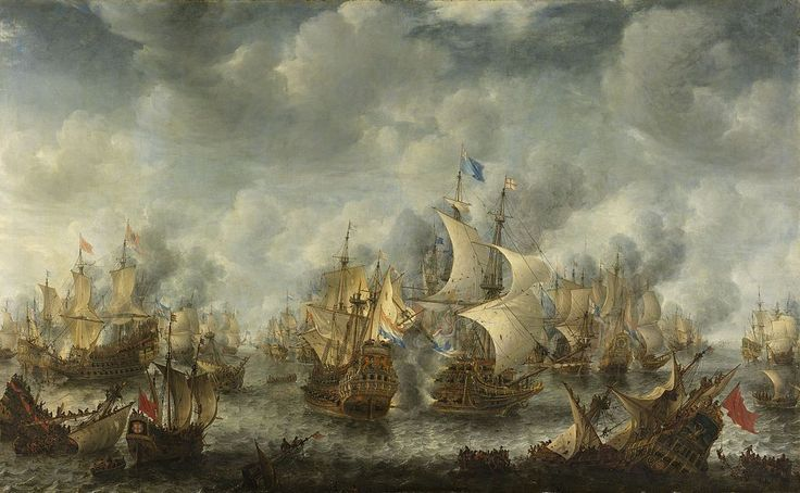 Battle of Scheveningen (Slag bij Ter Heijde)(Jan Abrahamsz. Beerstraten). The Battle of Scheveningen (also known as the Battle of Texel or the Battle of Ter Heijde) was the final naval battle of the First Anglo-Dutch War. It took place on 31 July 1653 (10 August Gregorian calendar) between the fleets of the Commonwealth of England and the United Provinces, and had no clear victor.