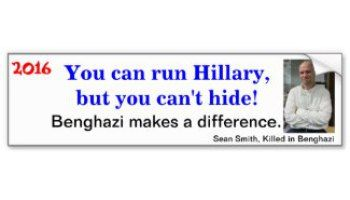 Afraid to Face Benghazi Victim's Family she Lied to, Hillary Clinton Cancels Trip to San Diego Today!