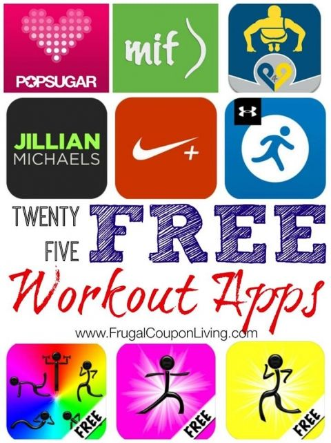 25 free workout apps
