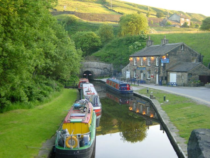 Standedge Tunnel on the Hudderfield canal, England