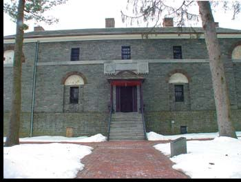 The Haunted Prison Mount Holly | They say Burlington County Prison is haunted.