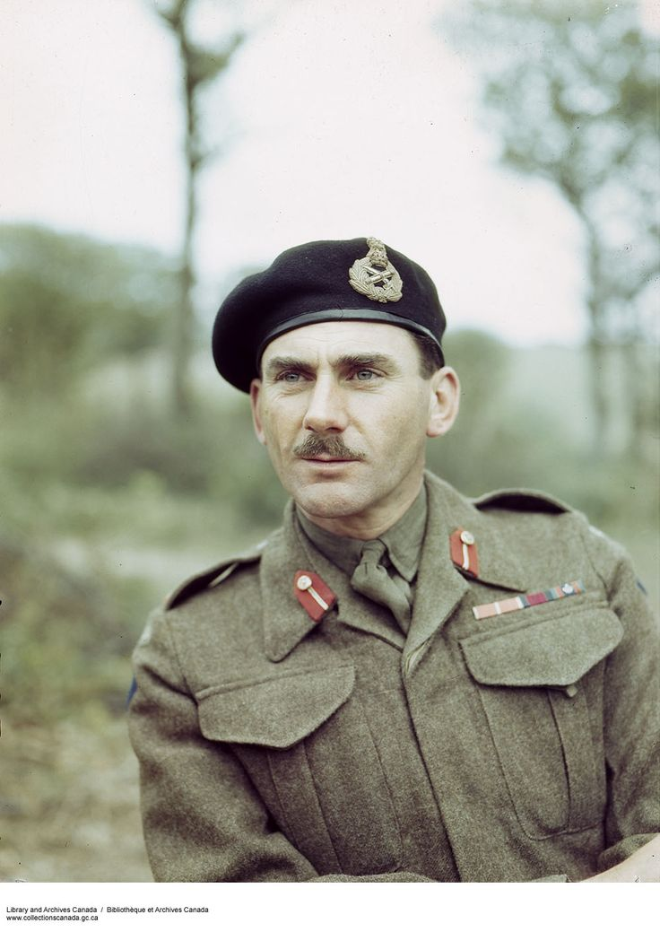 One of the most efficient generals during the World War II, Simonds was a Canadian Army officer who commanded the II, had a decisive role in the Allied victory in the Battle of Scheldt (1944). A great leader and a skillful officer, he was the youngest corps commander in the British army, at the age of forty-one. He was also the youngest Canadian to lead a division in action.
