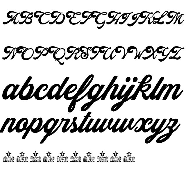 ALEXANDRA PERSONAL USE REGULAR FONT