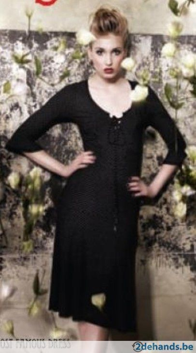 Grijze jurk van Vive Maria - Maat large
