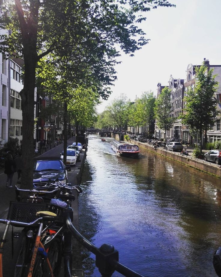 The view from a bridge in Amsterdam.  #Explore #Europe #Travel #BeautifulDestinations #PassionPassport #Travelling #Travelgram #InstaTravel #Traveller #Travellers #Travelingram #TravelTheWorld #TravelBlog #TravelBlogger #TravelAddict #Wanderlust #Netherlands #Amsterdam #Cruise