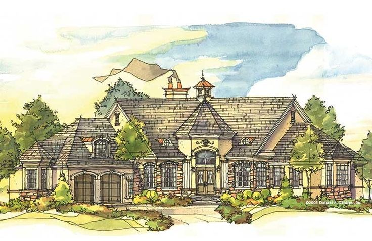 The Iverness Manor House Plan House Pinterest